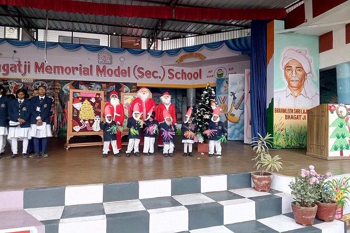 Bhagati Ji Memorial Model School-Christmas Celebrations