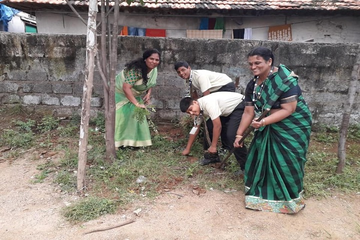 Laurus The School Of Excellence-Swachh Bharat