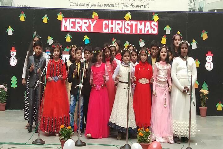 Bharti Public School-Chrsitmas Celebrations