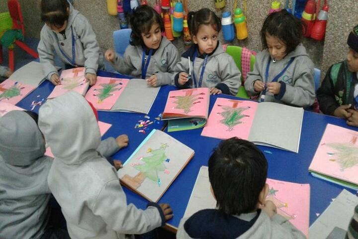 Bharti Public School-Classroom Activity