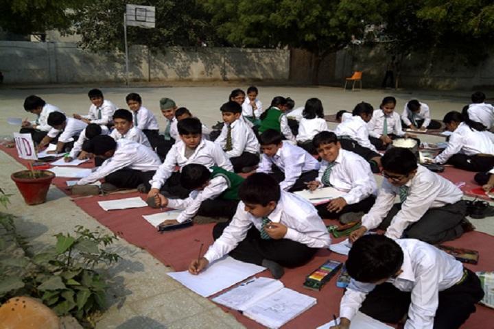 Bhatnagar International School-Art Competition