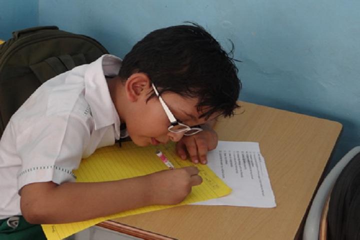 Bhatnagar International School-Calligraphy