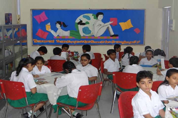 Bhatnagar International School-Library