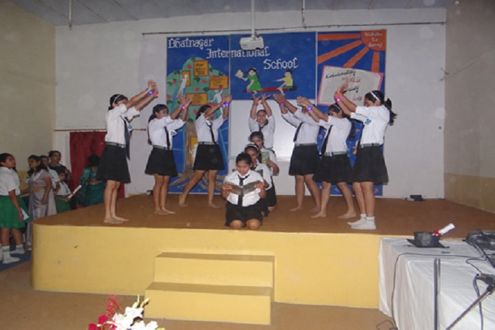 Bhatnagar International School-Literacy Day