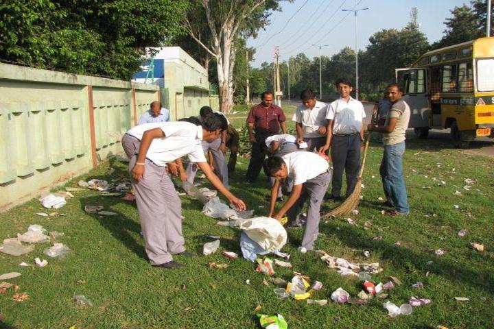 Bhavans Sawan Public School-Swatch abhyaan