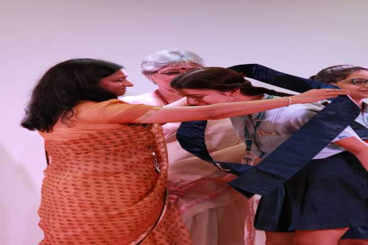Birla Vidya Niketan-Investiture Ceremony