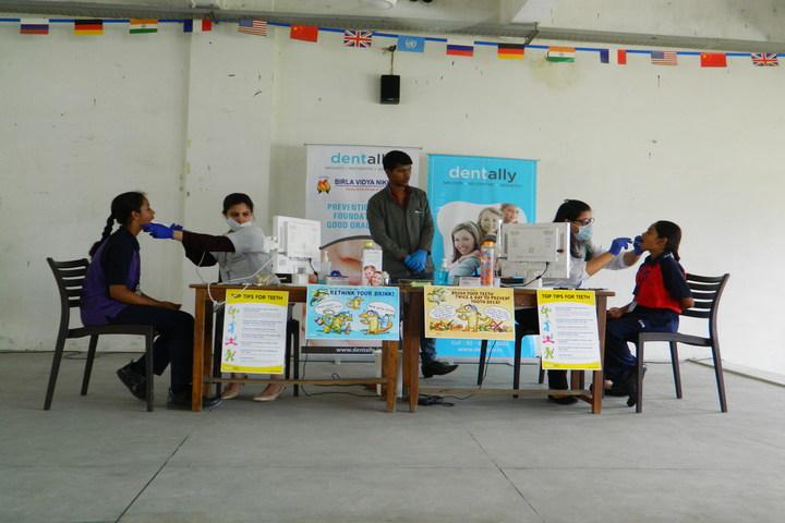Birla Vidya Niketan-Medical Checkup Camp