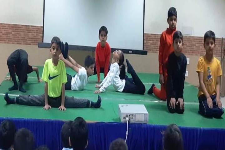 Birla Vidya Niketan-Yoga Day