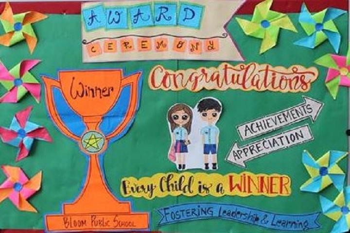 Bloom Public School-Award ceremony
