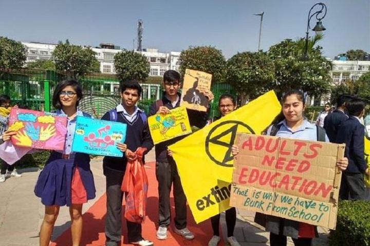 Bloom Public School-Global school strike