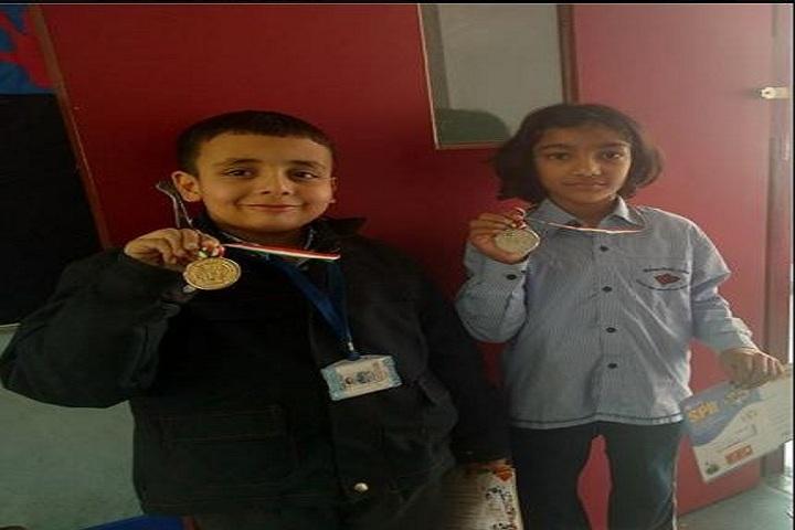 Bloom Public School-Olympiad winners