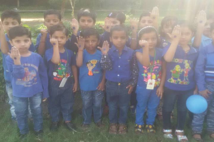 Blooming Dales Public School-Blue Day