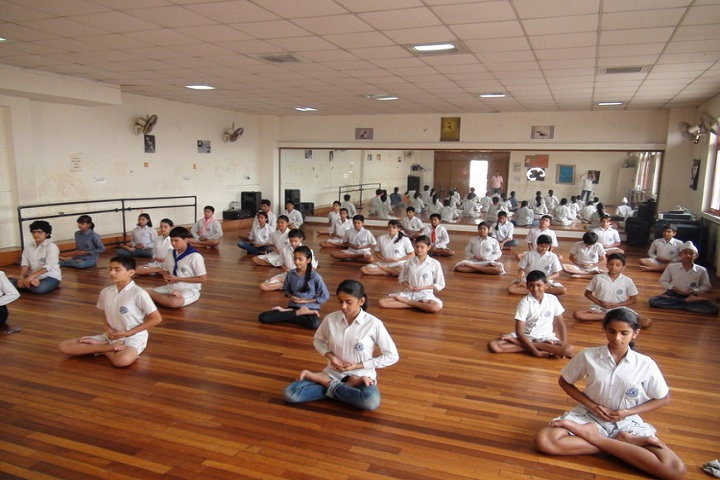 Blue Bells School International-Yoga