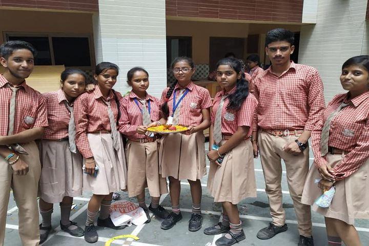 Brahma Shakti Public School-Rangoli