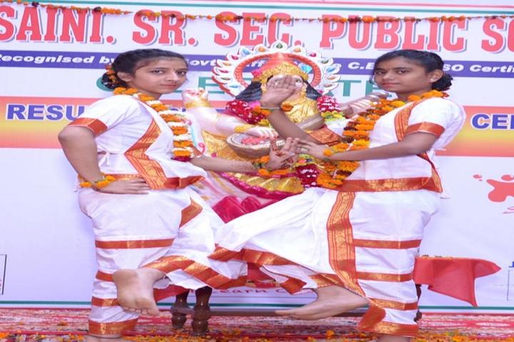 C R Saini Public School-Dance Performance