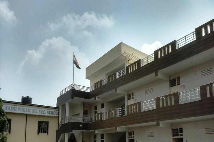 C R Saini Public School-Campus View
