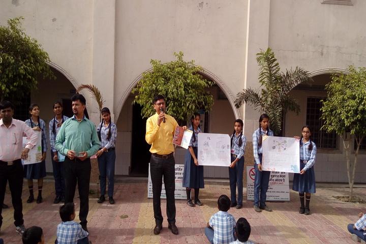 C.R. Oasis Convent School-Anti Dengue Day