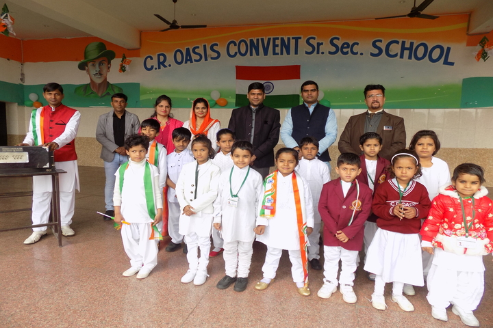 C.R. Oasis Convent School-Independence Day