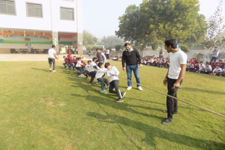 C.R. Oasis Convent School-Sports Day