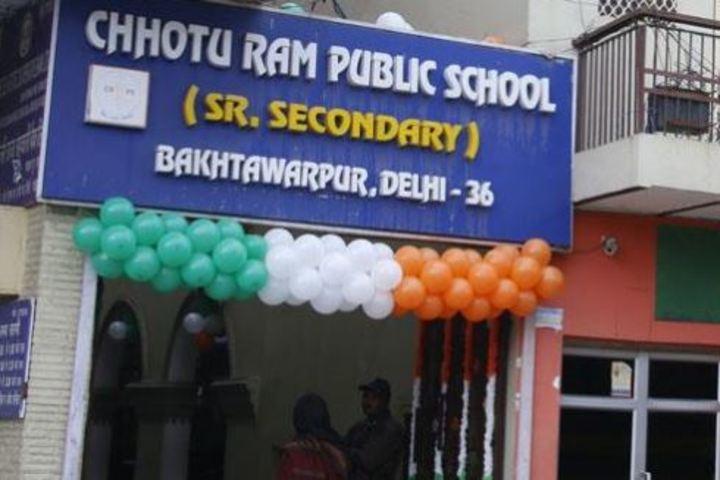 Chhotu Ram Public School-Campus View