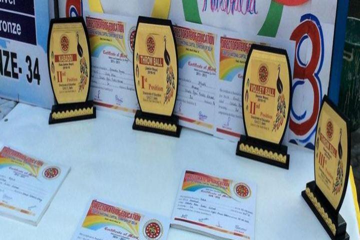 Chhotu Ram Public School-Sports Awards