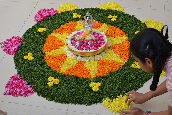 Little Woods School-Rangoli