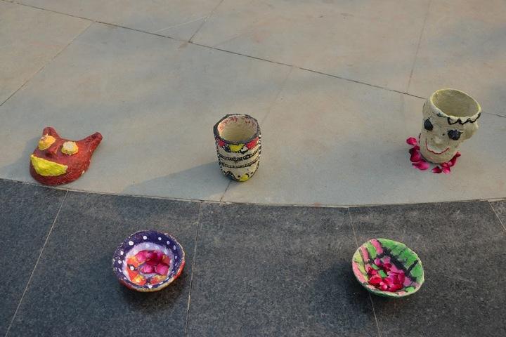 Col Satsangis Kiran Memorial Public School-Arts