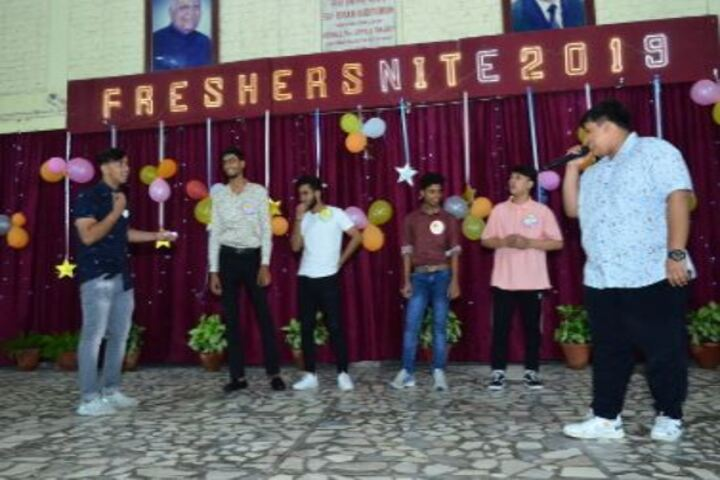 Col Satsangis Kiran Memorial Public School-Freshers Party