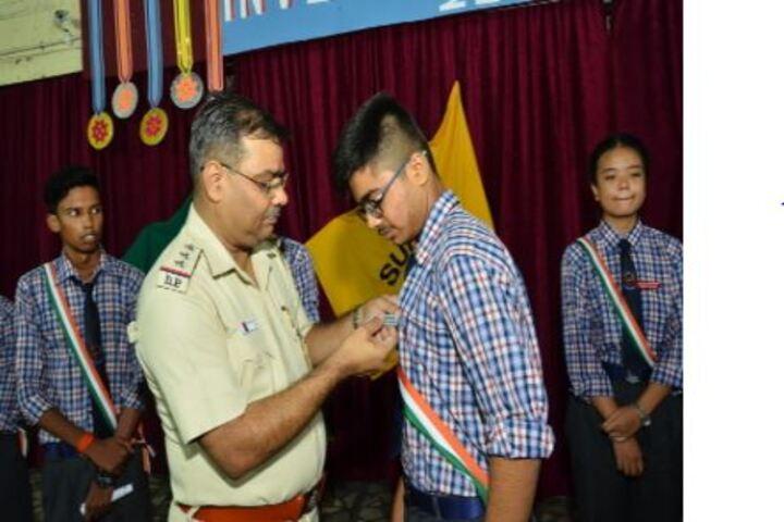 Col Satsangis Kiran Memorial Public School-Investiture Ceremony