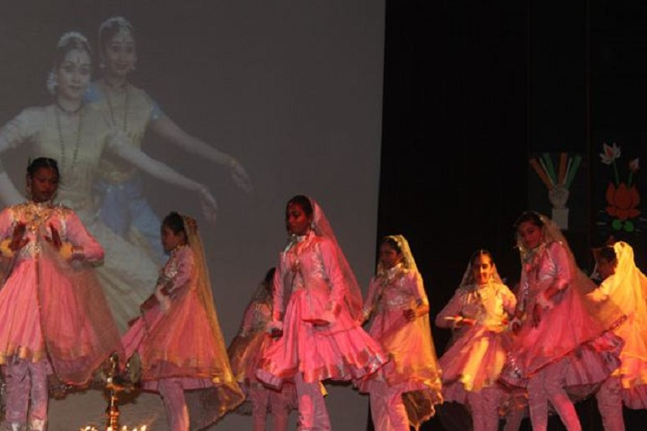 Convent Of Jesus and  Mary School-Cultural Dance