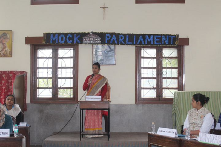 Convent Of Jesus and  Mary School-Mock Parliment