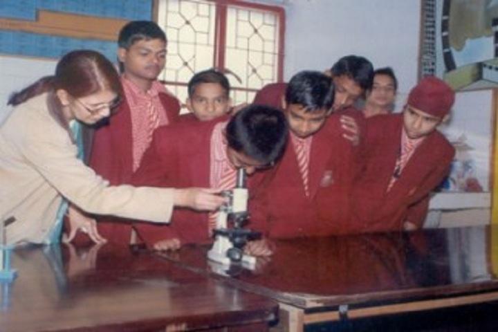 Cosmos Public School-Laboratory