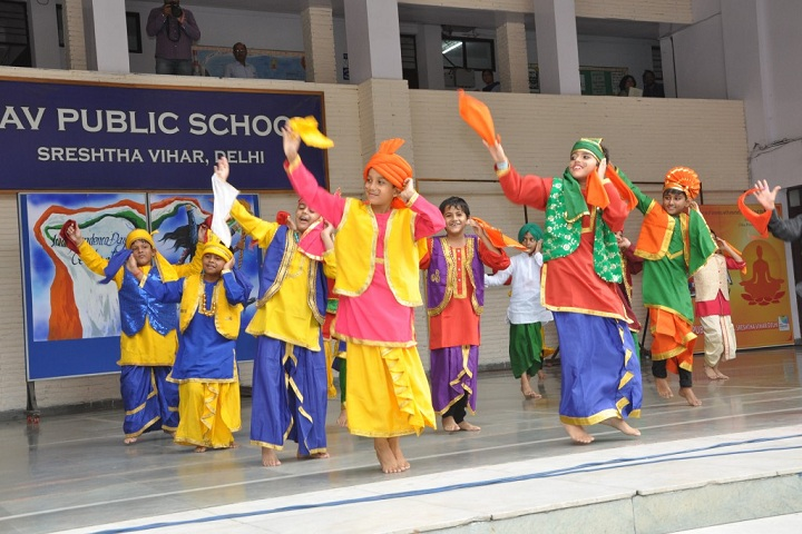 D A V Public School-Annual Day