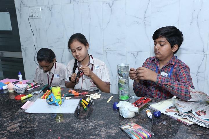 D A V Public School-Craft