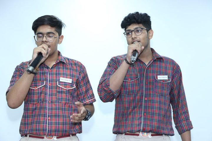 D A V Public School-Singing Competition