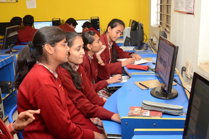 D A V Public School-IT Lab
