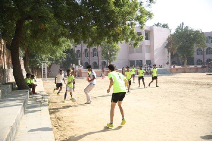 D A V Public School-Outdoor Games