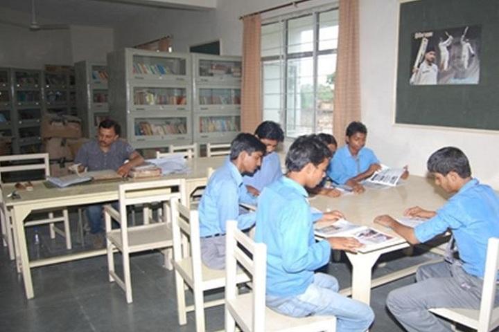 D C M Boys Senior Secondary School-Library