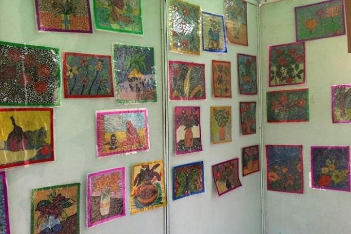 D T E A Senior Secondary School-Art Work