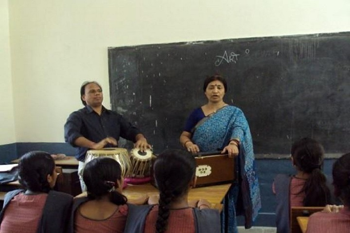 D T E A Senior Secondary School-Music Class