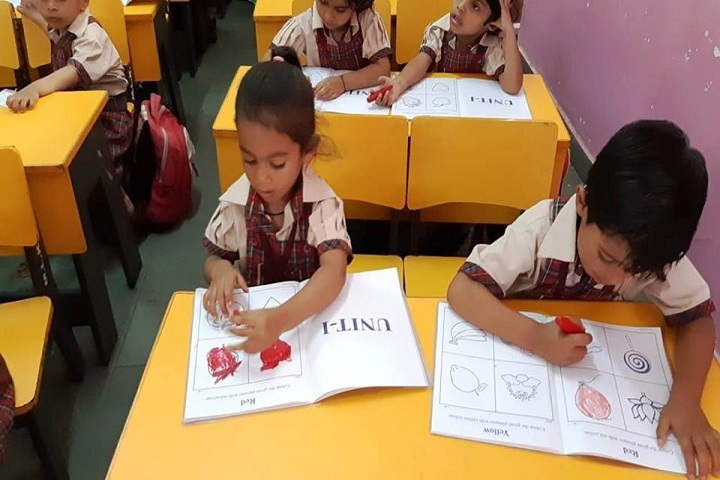 M L Khanna DAV Public School-Activity Class2