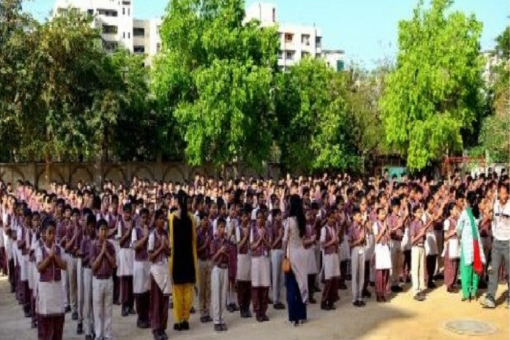 M L Khanna DAV Public School-Assembly
