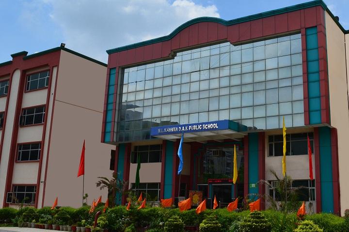 M L Khanna DAV Public School-Campus