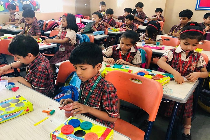 M L Khanna DAV Public School-Classroom