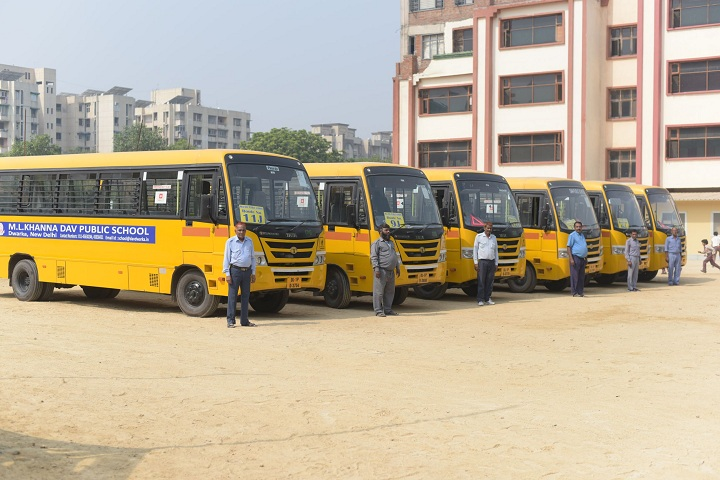 M L Khanna DAV Public School-Transport