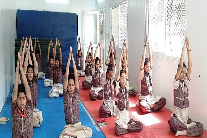 M L Khanna DAV Public School-Yoga Class
