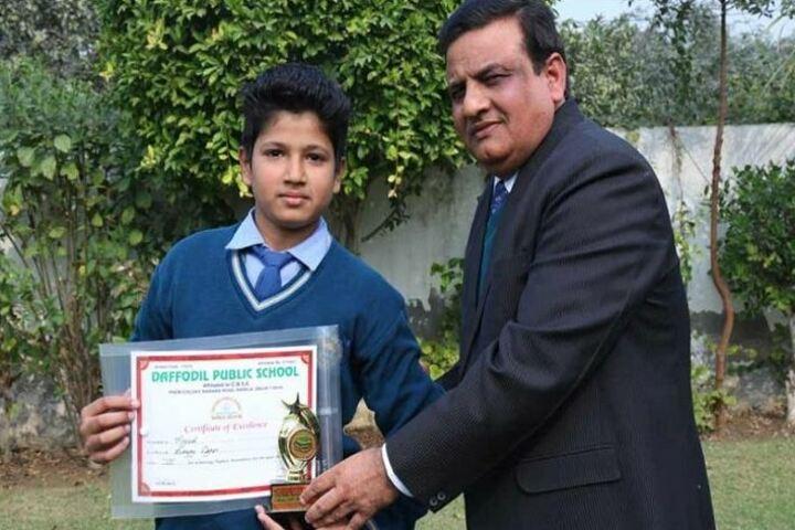 Daffodil Public School-Certificate Issue
