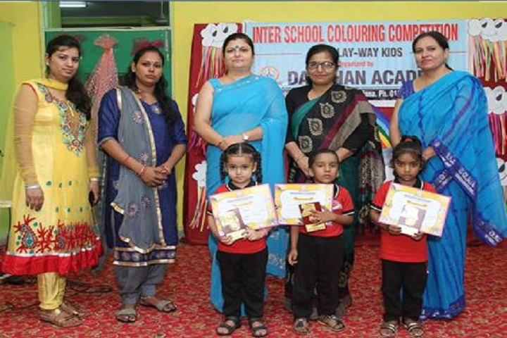 Darshan Academy-Inter school competiton