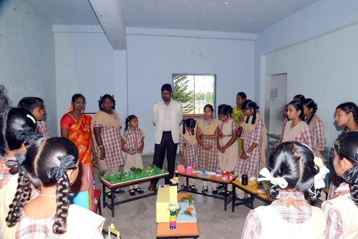 M J R Vidya English Medium High School-Exhibition