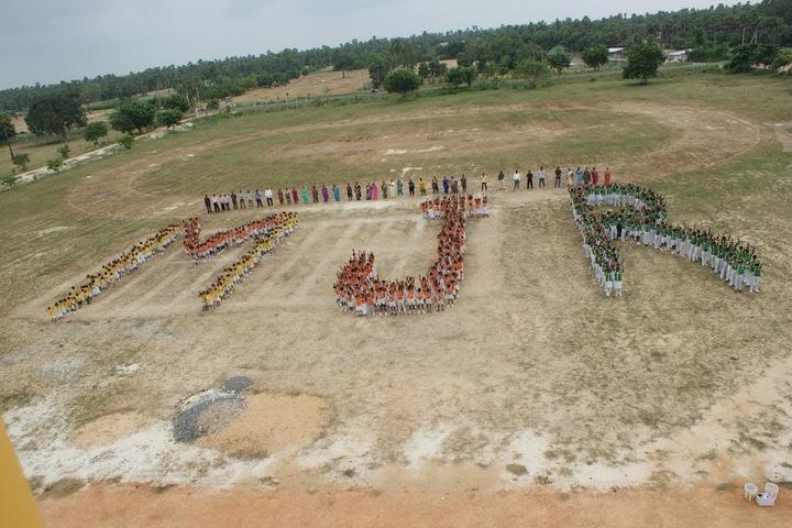 M J R Vidya English Medium High School-Play Ground